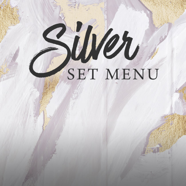 Silver set menu at The Willett Arms