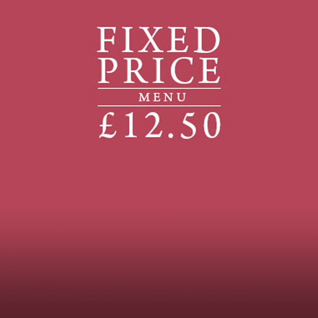 Fixed Price Menu at The Willett Arms