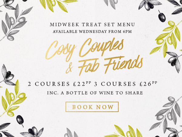 Midweek treat at The Willett Arms - Book now